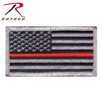 Thin Red Line Flag Patch PATCH marinecorpsdirecttft