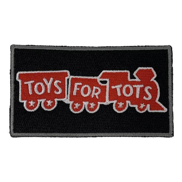 "Toys For Tots Patch 3.5"" X 2"" PATCH marinecorpsdirecttft"