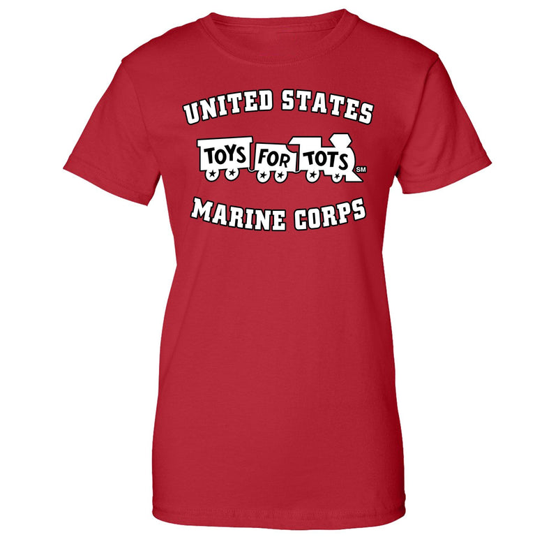 White/Black TFT Train Women's T-Shirt TFT Shirt marinecorpsdirecttft S RED