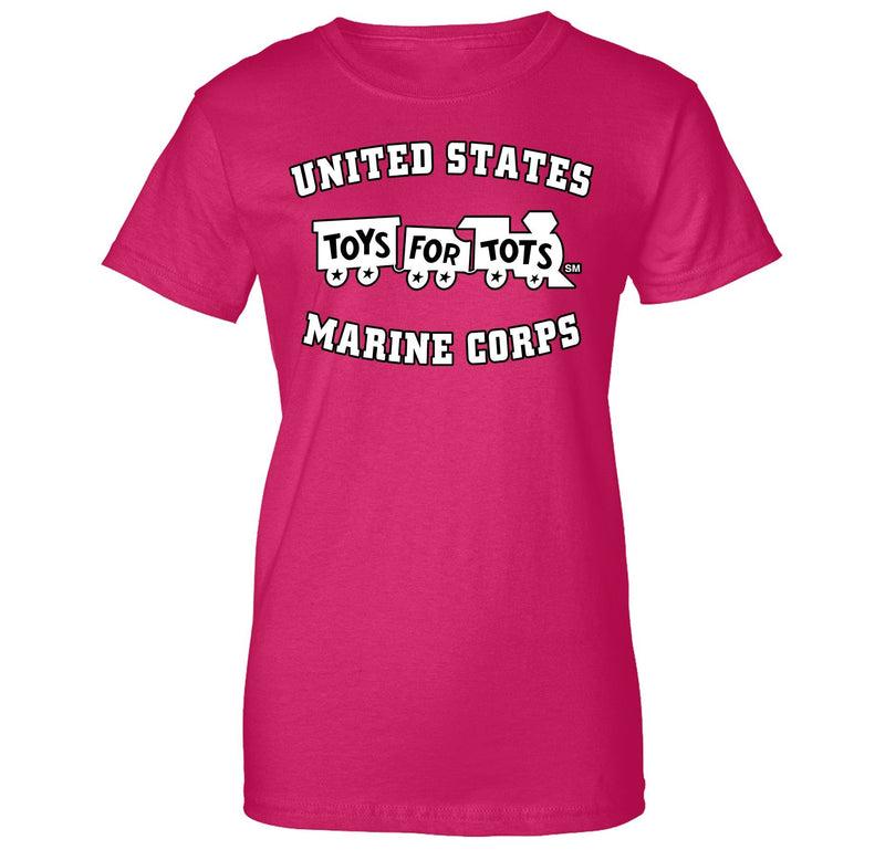 White/Black TFT Train Women's T-Shirt TFT Shirt marinecorpsdirecttft S PINK