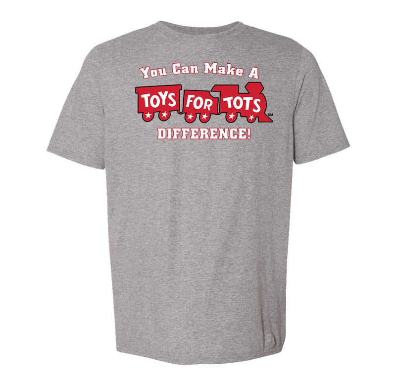 Russell Athletic Make A Difference TFT Train T-Shirt TFT Shirt marinecorpsdirecttft S OXFORD