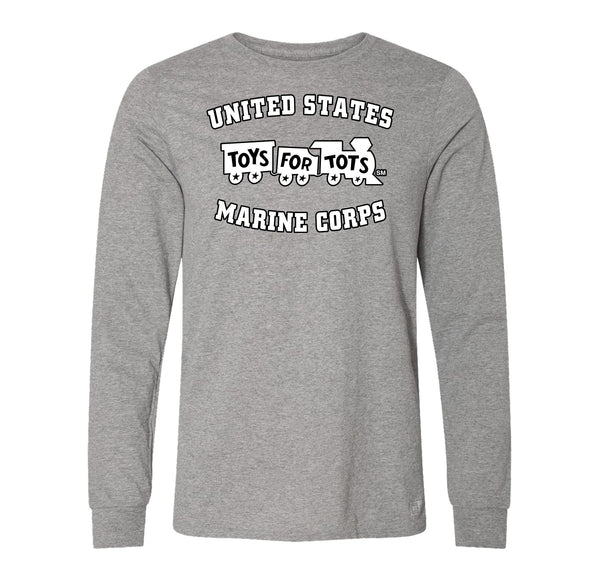 Russell Athletic White/Black TFT Train Long Sleeve TFT Shirt marinecorpsdirecttft S OXFORD