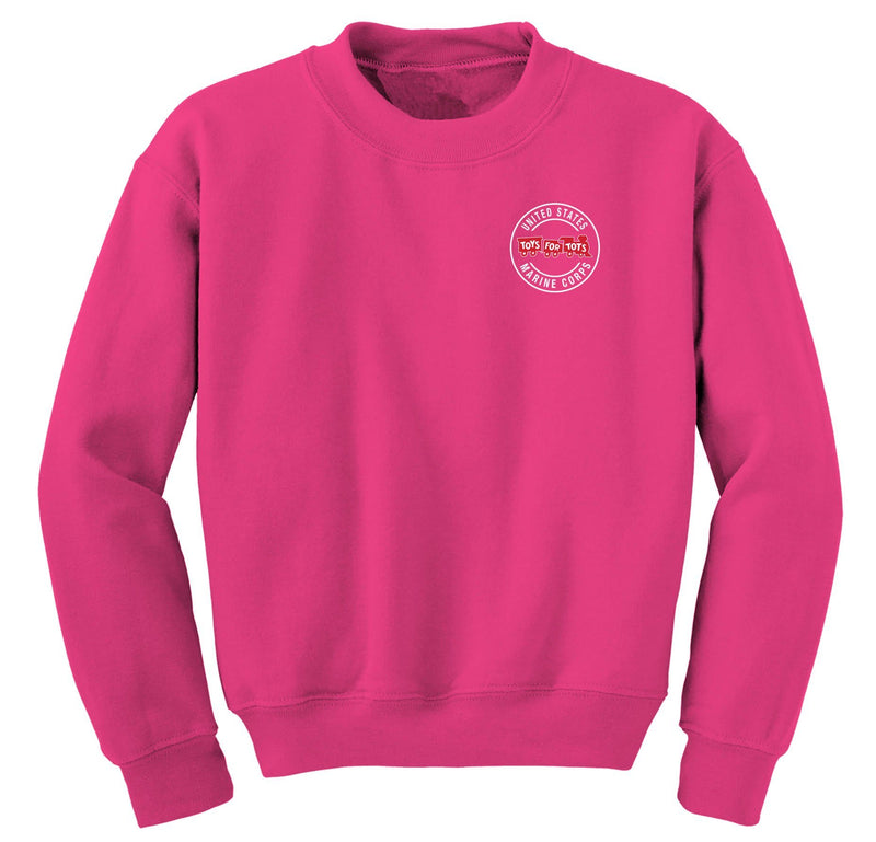 Circle TFT Chest Seal Sweatshirt TFT Shirt Marine Corps Direct S PINK