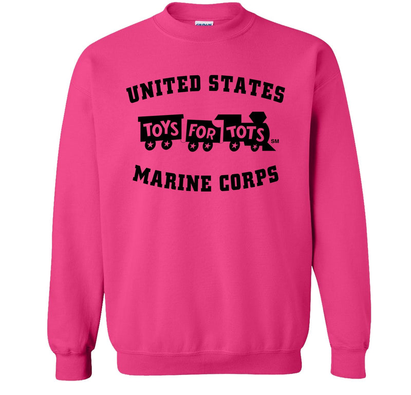 Black TFT Train Sweatshirt TFT Sweatshirt/hoodie Marine Corps Direct S PINK