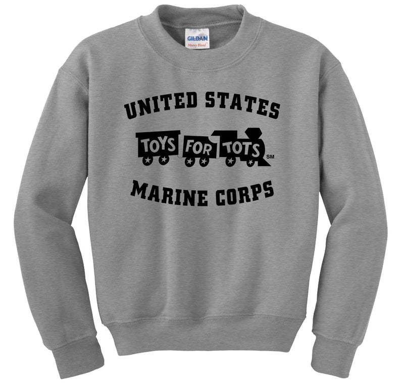 Black TFT Train Sweatshirt TFT Sweatshirt/hoodie Marine Corps Direct S SPORT GRAY