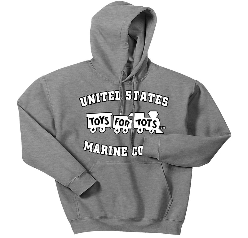 White/Black TFT Train Hoodie TFT Sweatshirt/hoodie marinecorpsdirecttft S SPORT GRAY
