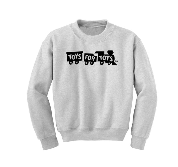Black TFT Train Kids Sweatshirt TFT Sweatshirt/hoodie Marine Corps Direct S (6-8) SPORT GRAY