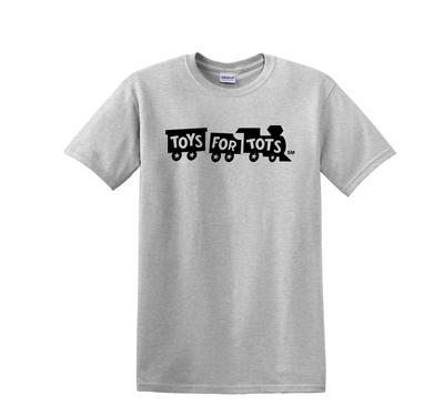 Black TFT Train Kids T-Shirt TFT Shirt Marine Corps Direct XS (2-4) SPORT GRAY