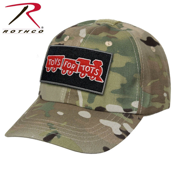 Multicam Rothco Tactical Operator Cap W/ TFT Patch marinecorpsdirecttft