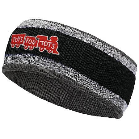 Reflective TFT Headband TFT Hat Marine Corps Direct BLACK