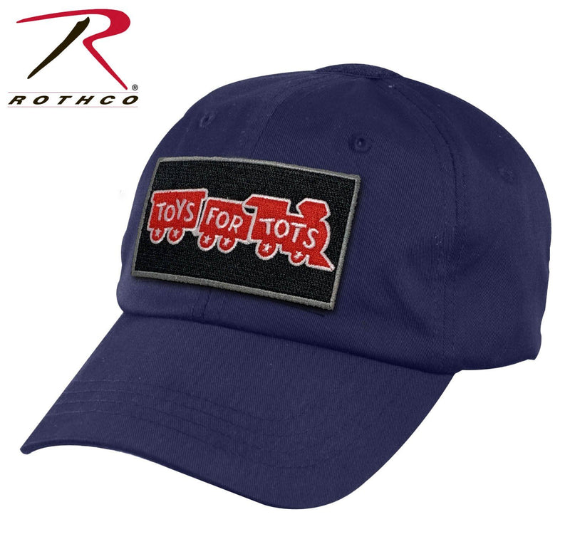 Navy Blue Rothco Tactical Operator Cap W/ TFT Patch marinecorpsdirecttft