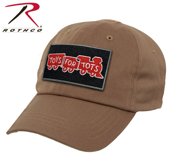 Coyote Brown Rothco Tactical Operator Cap W/ TFT Patch marinecorpsdirecttft
