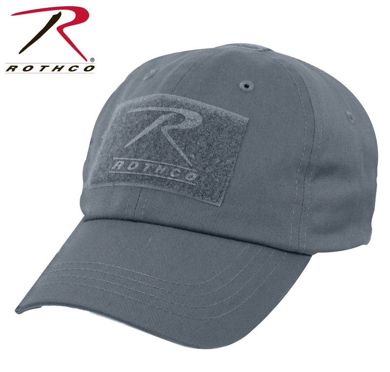 Gun Metal Grey Rothco Tactical Operator Cap W/ TFT Patch marinecorpsdirecttft