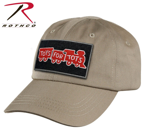 Khaki Rothco Tactical Operator Cap W/ TFT Patch marinecorpsdirecttft