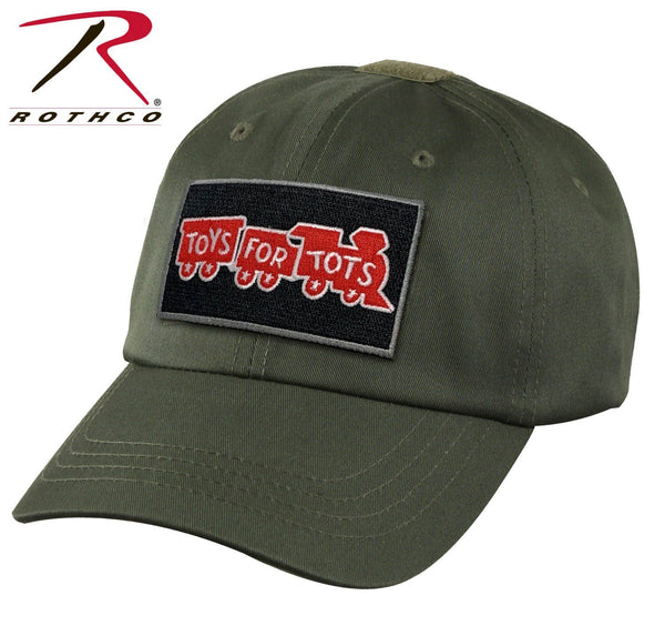 Olive Drab Rothco Tactical Operator Cap W/ TFT Patch marinecorpsdirecttft