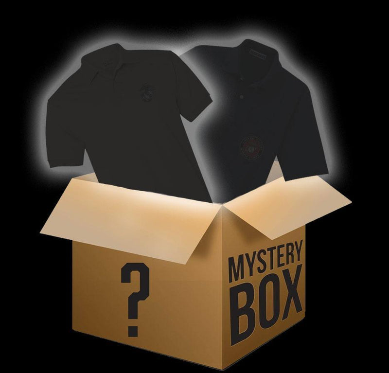 TFT Polo Mystery Box Embroidered Polo Marine Corps Direct SMALL
