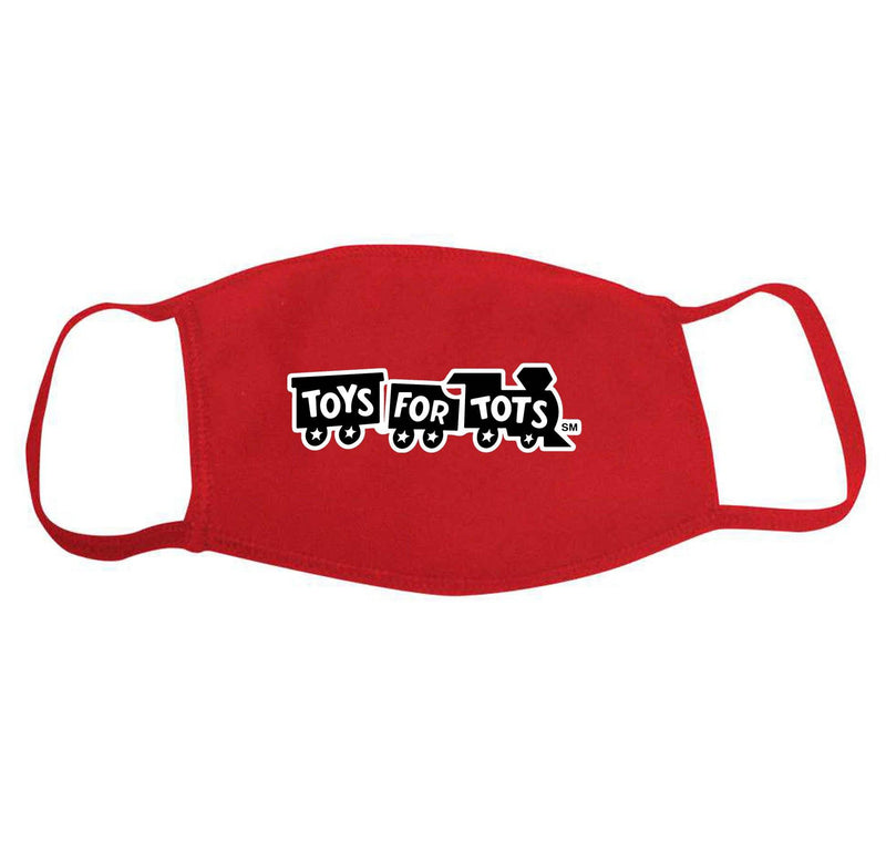 Red Toys For Tots Face Mask MASK marinecorpsdirecttft