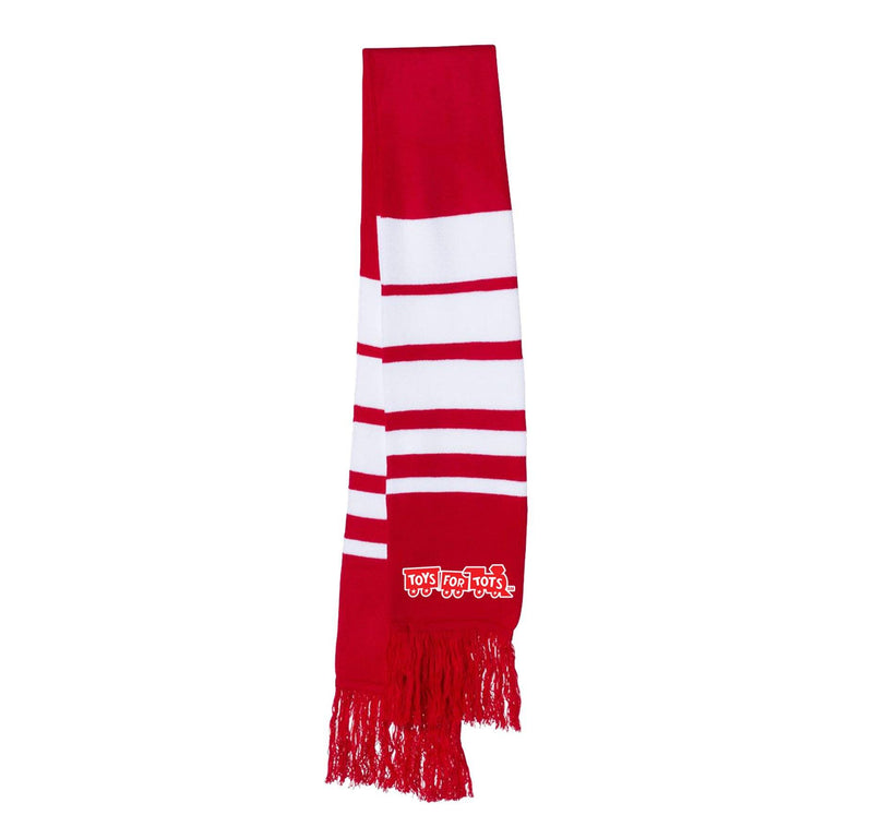 TFT Soccer Scarf TFT MISC marinecorpsdirecttft RED/WHITE