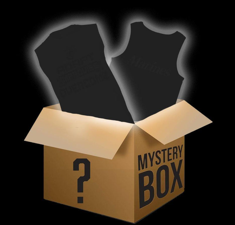TFT Sleeveless and Tank Mystery Box T-Shirt Marine Corps Direct SMALL