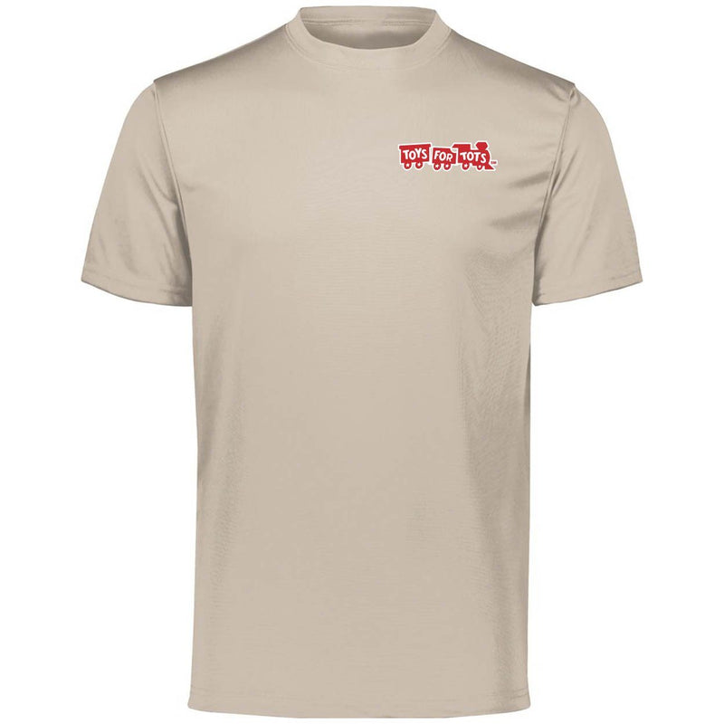 Augusta Dri-Fit Performance Red TFT Chest Seal T-Shirt TFT Shirt Marine Corps Direct S SAND