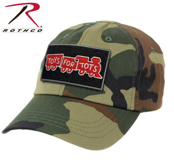 Woodland Camo Rothco Tactical Operator Cap W/ TFT Patch marinecorpsdirecttft