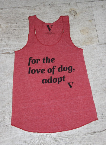 VAUTE For the Love of Dog Tank
