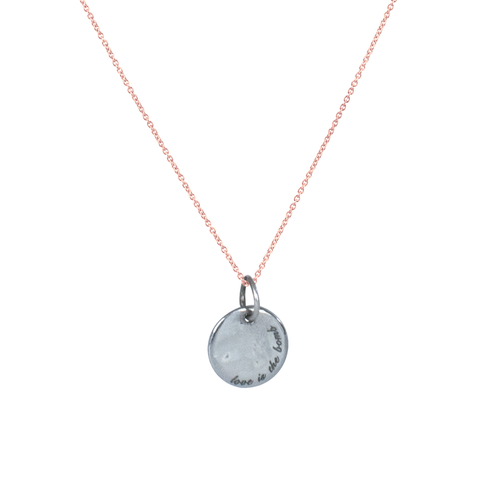 PEACEbomb - Love is the Bomb Disc Necklace