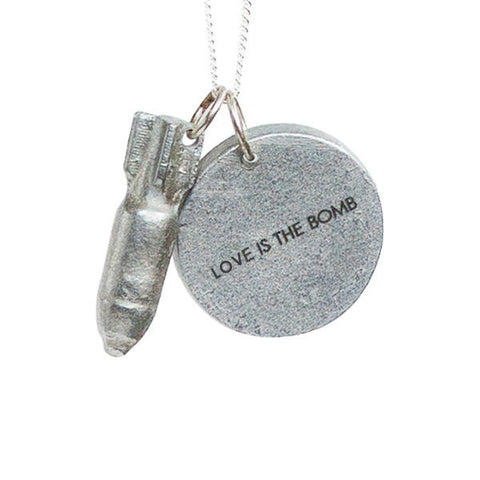 PEACEbomb - Love is the Bomb Necklace