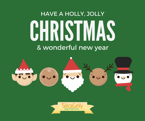 Merry Christmas - SilicaGelly Silica Gel Desiccant Dehumidifier Reduce Moisture Malaysia Singapore