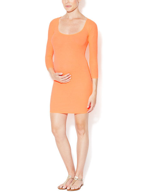 BIANCA 3/4 SLEEVE DRESS