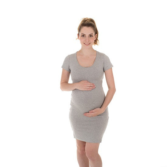 THE BLISS DRESS GREY MARLE