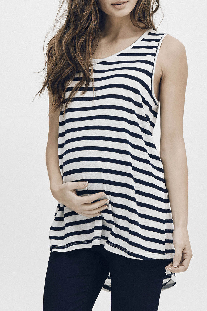 RESORT TANK - NAVY/WHITE