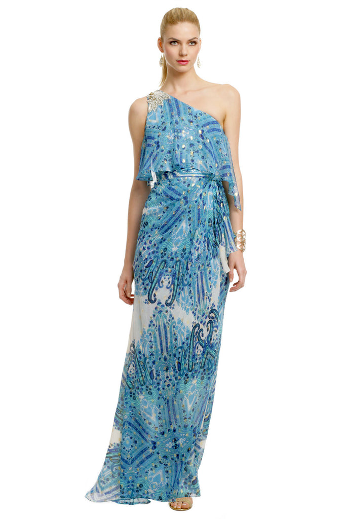 BADGLEY MISCHKA DREAM ON GOWN - RENTAL
