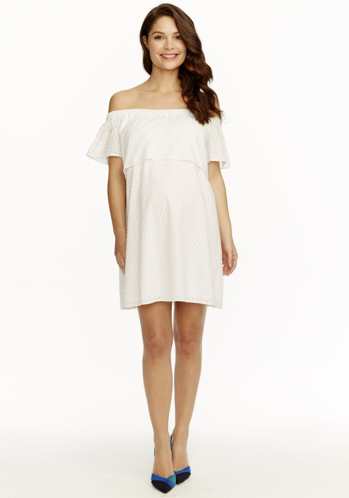 CAMILLE DRESS - WHITE