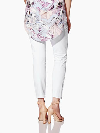 ANGELS CROPPED SKINNY MATERNITY JEAN