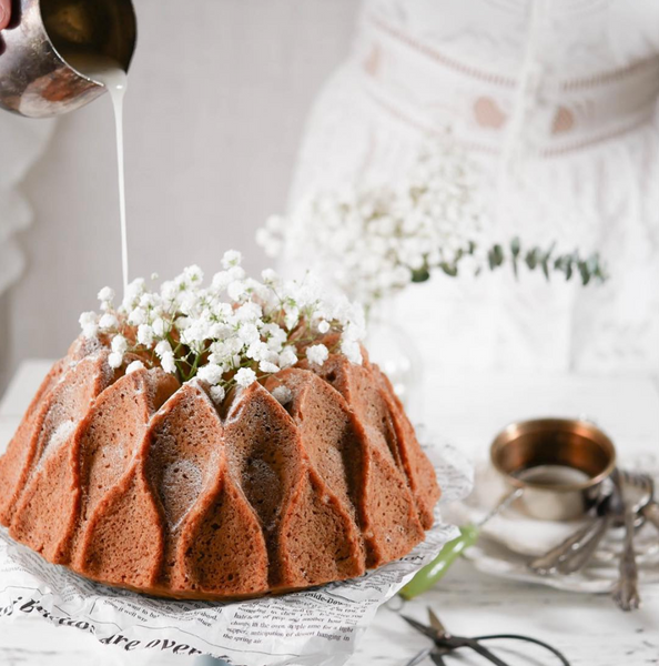 The Earl grey bundt cake that's dairy free & refined sugar free 🌱