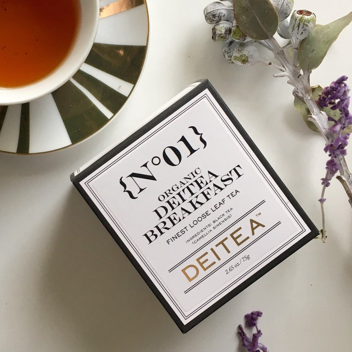 {No.01} Organic Deitea Breakfast