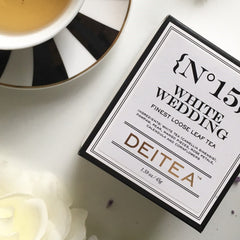 {No.15} White Wedding Refill Box