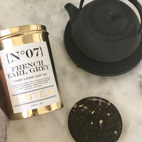 {No.07} French Earl Grey Tea Caddy