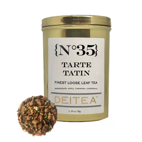 {No.35} Tarte Tatin Tea Caddy - Chamomile, Cinnamon and Apple