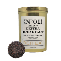{No.01} Organic Deitea Breakfast Tea Caddy