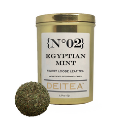 {No.02} Egyptian Mint Tea Caddy