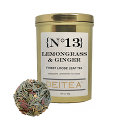 {No.13} Lemongrass & Ginger Tea Caddy