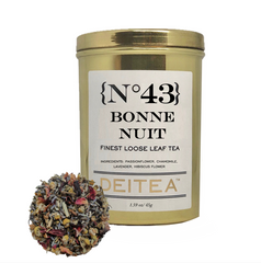 {No.43} Bonne Nuit Tea Caddy