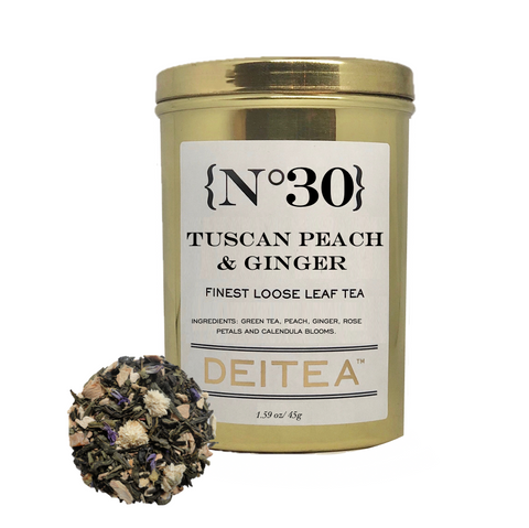 {No.30} Tuscan Peach and Ginger Tea Caddy