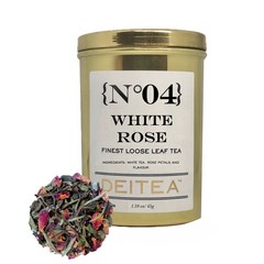 {No.04} White Rose Tea Caddy