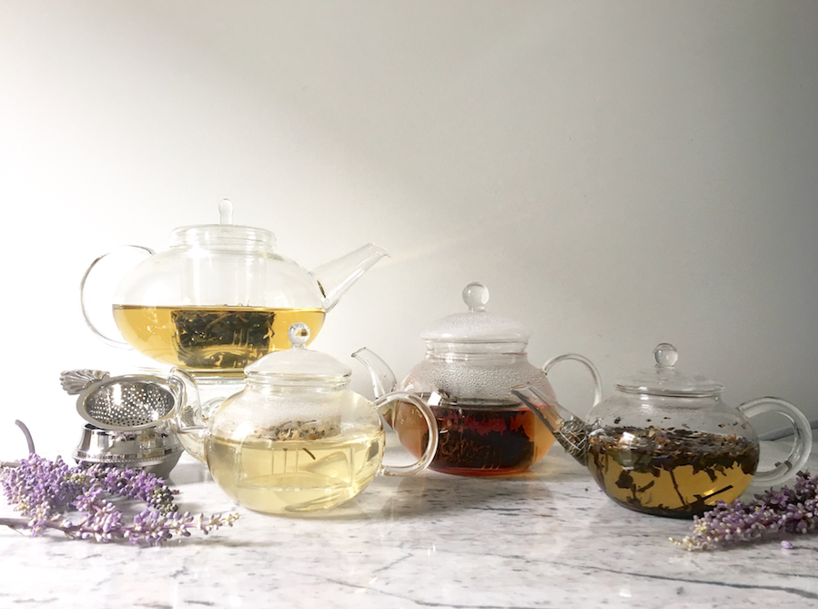 Glass Teapot & Teapot Warmer