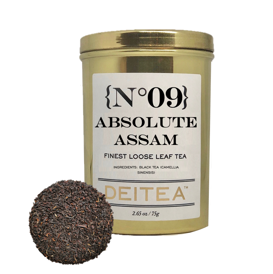 {No.09} Absolute Assam Tea Caddy