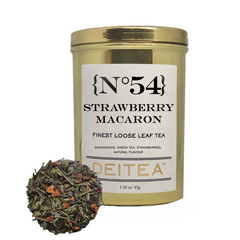 {No.54} Strawberry Macaron Tea Caddy