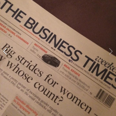 We're on The Business Times!